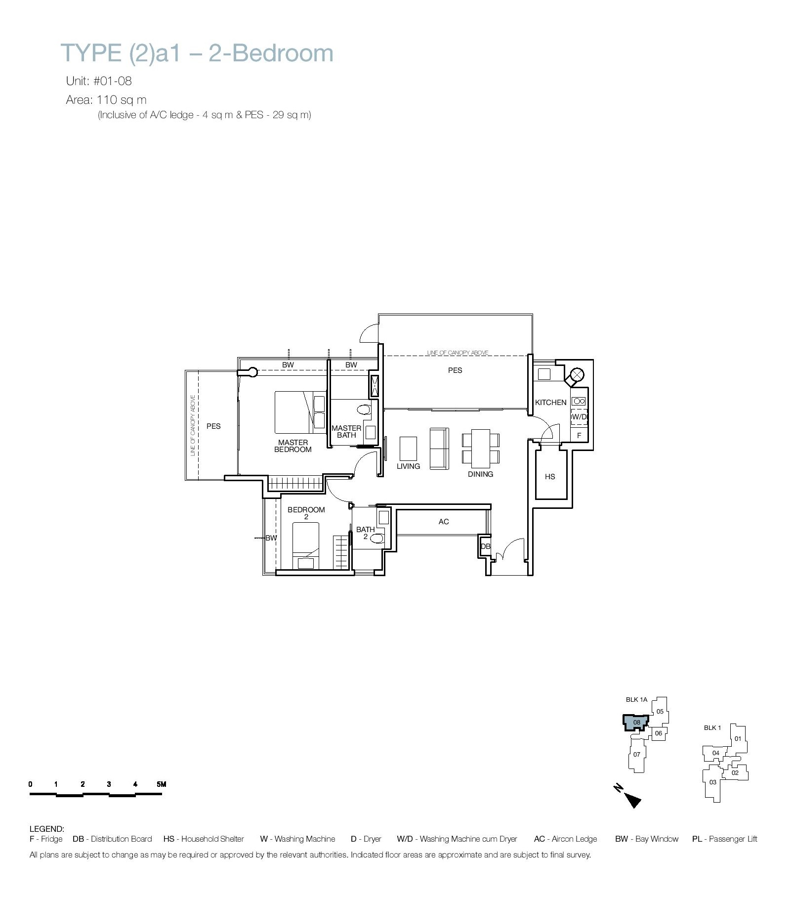 One Balmoral 2 Bedroom Floor Type (2)a1 Plans