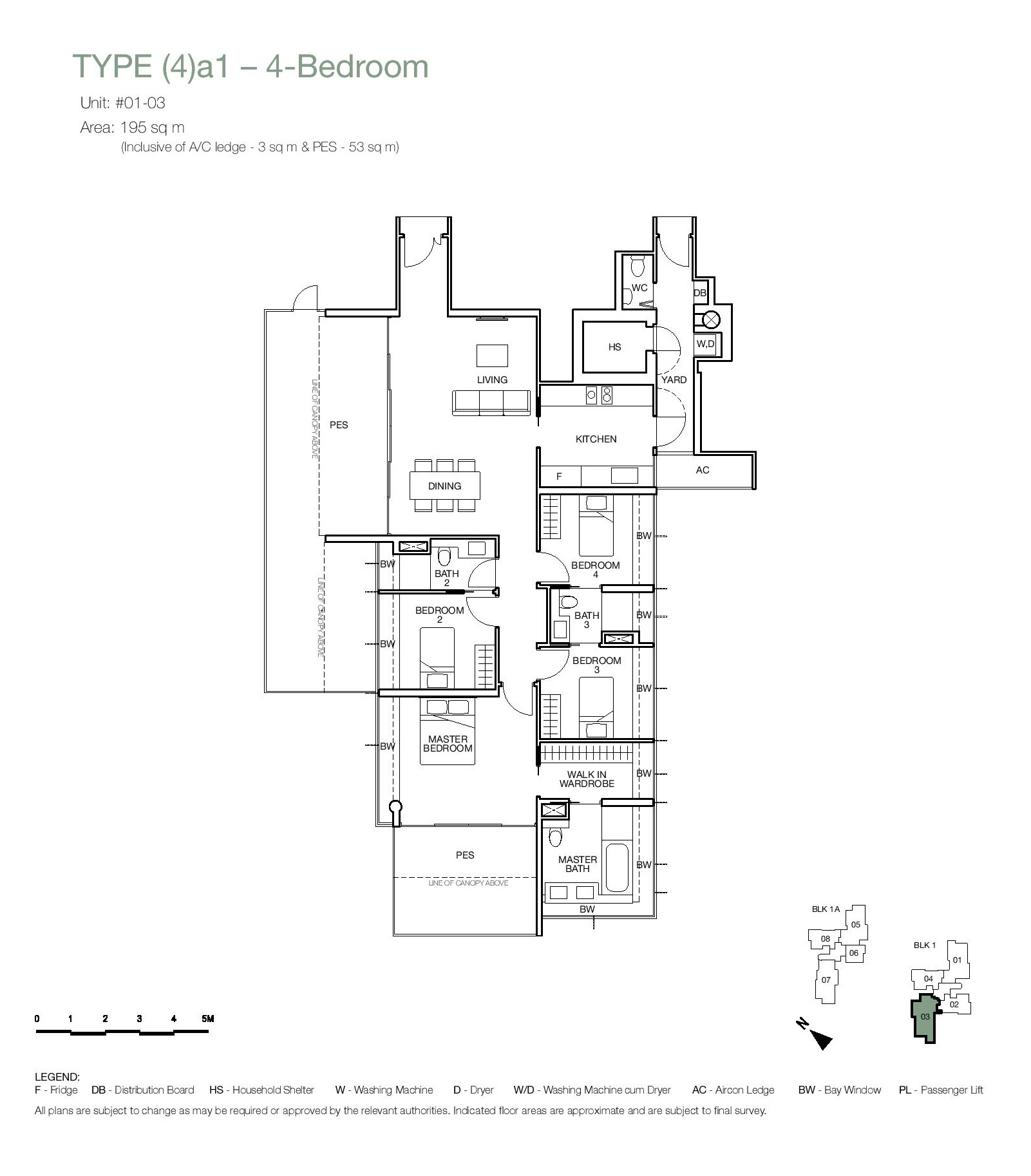 One Balmoral 4 Bedroom Floor Type (4)a1 Plans